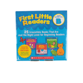 Scholastic, First Little Readers: Guided Reading Level B, Grades PreK-2nd, 25 Book Set, Paperback