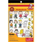 Eureka, Peanuts Sticker Book, 5.75 x 9.5 Inches, Multi-Colored, Book of 410