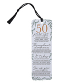 Dicksons, 50 Years Ago Tassel Bookmark, 2 x 6 inches