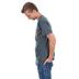 Kerusso, Psalm 23 He Leads Me Beside Still Waters, Men's Short Sleeve T-shirt, Dark Heather, Small