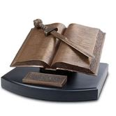 Word Of God With Sword Sculpture
