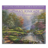 Thomas Kinkade Reflections Special Collector's Edition with Scripture 2021 Wall Calendar, Paper, 14 x 12 1/2 inches