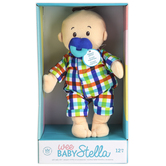 Manhattan Toy Company, Wee Baby Fella Plush Peach Doll, Ages 12 Months & Older, 2 Piece Set