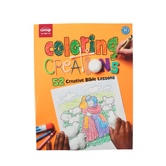 Group Publishing, Coloring Creations 52 Creative Bible Lessons, Reproducible, 112 Pages, Grades PK-3