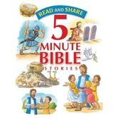 Thomas Nelson, Read and Share 5-Minute Bible Stories, by Gwen Ellis, Hardcover