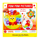 Faber-Castell, Pom Pom Pictures, Assortment, 8 x 8 Inches