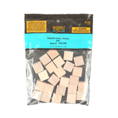 Woodpile Fun, Wooden Craft Cubes, 3/4 inch, Natural, 24 Count
