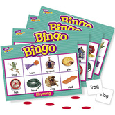 Trend, Rhyming Bingo Game, 4 Years and Older, 3 to 36 Players