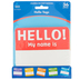Carson-Dellosa, Hello Name Tags Cutouts, 5 x 5.42 Inches, Multi-Colored, 36 Pieces
