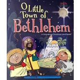 O Little Town of Bethlehem: A Christmas Carol Book, by Ron Berry & Chris Sharp, Board Book
