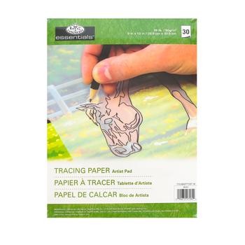 Royal & Langnickel, Tracing Artist Pad, 9 x 12 Inches, 30 Sheets