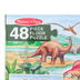 Melissa & Doug, Dinosaurs Floor Puzzle, 48 Pieces, 24 x 36 inches, Ages 3 to 6 Years Old