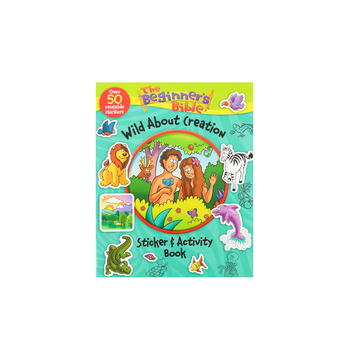 Zondervan, The Beginners Bible Wild About Creation Sticker & Activity Book, Kelly Pulley, Paperback