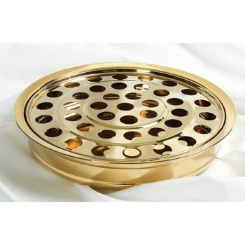 RemembranceWare, Communion Cup Tray and Disc, 12 1/4 x 2 1/4 inches, Multiple Colors Available Silver
