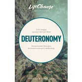 Deuteronomy, LifeChange Bible Study Series, by The Navigators, Paperback