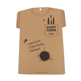 Cardboard Shirt Form, Adult