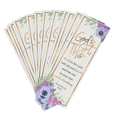 Salt & Light, Proverbs 3:5 Gods Got This Bookmarks, 2 x 6 inches, 25 Bookmarks