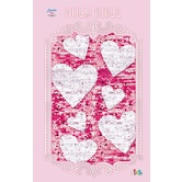 ICB Sequin Bible, Canvas, Pink
