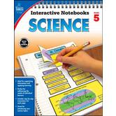 Carson-Dellosa, Interactive Notebook: Science, Grade 5
