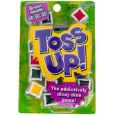 Play Monster, Toss Up Dice Game, Ages 8 and Older, 2 to 6 Players