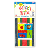 Wikki Stix, Primary Colors Pack, 8 inches, Set of 48