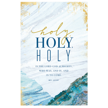 Salt & Light, Holy Holy Holy Church Bulletins, 8 1/2 x 11 inches Flat, 100 Count