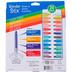 The Pencil Grip, Wonder Stix Washable Set, Multi-Colored, Set of 24, Grades PreK-Adult