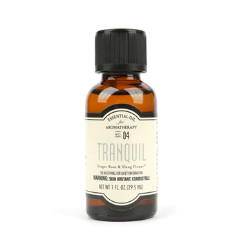 Tranquil Aromatherapy Essential Oil, Ginger Root & Ylang Flower Scent, 1 fluid ounce