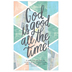 Salt & Light, God Is Good All The Time Church Bulletins, 8 1/2 x 11 inches Flat, 100 Count