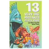 13 Very Big Mistakes and What God Did about Them, David C Cook, 112 Pages, Grades 1-7