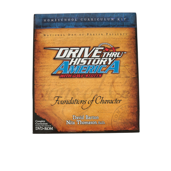 Drive Through American History Curriculum: Foundations of Character, Grades 6-12