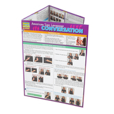 BarCharts Inc, American Sign Language Conversation, Quick Study Academic Guide, Grades 1-Adult