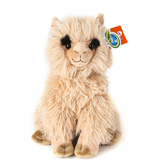 Wild Republic, Cuddlekins Alpaca Stuffed Animal, Light Brown, 12 inches