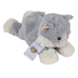 Warmies, Laying Down Cat Stuffed Animal, Plush, Gray, 13 inches