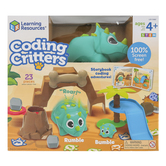 Learning Resources, Coding Critters Rumble & Bumble, Multi-Colored, Ages 4 Years and Older, 23 Pieces