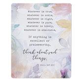 Legacy Publishing House, Philippians 4:8 Magnet, 4 x 3 Inches