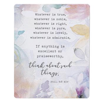 Legacy Publishing House, Philippians 4:8 Magnet, 4 x 3 Inches
