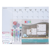 The Board Dudes, Color Code Dry Erase Monthly Calendar, 16 x 20 inches, 15 Pieces