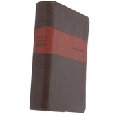 NIV Every Man's Bible, Deluxe Edition, Duo-Tone, Thumb Indexed, Multiple Colors Available