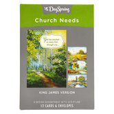 DaySpring, You Are Welcome Here Church Boxed Cards, 12 Cards with Envelopes