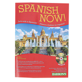 Barron's, Spanish Now Level 1 Worktext with MP3 CD 8th Edition, Paperback, 594 Pages, Grades 5-Adult