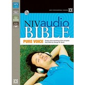 NIV Complete Audio Bible, Pure Voice, 66 CDs