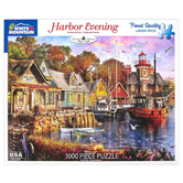 White Mountain, Harbor Evening Puzzle, 1000 Pieces, 24 x 30 Inches