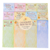 Product Concepts, Seasonal Magnetic Notepad Set, Multi-Colored, Set of 12