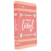 NIV Girls Ultimate Backpack Bible, Imitation Leather, Coral