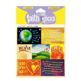 Faith that Sticks, John 3:16 Stickers, Package of 42