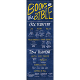 Salt & Light, Books of the Bible Bookmarks, 2 x 6 inches, 25 Bookmarks