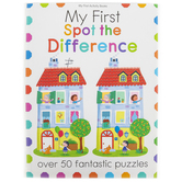 My First Spot the Difference Activity Book, Paperback, 64 Pages, Ages 3-6