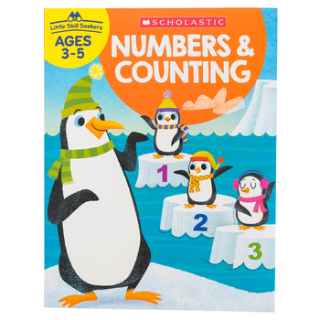 Scholastic, Little Skill Seekers: Numbers & Counting Activity Book, 48 Pages, Grades PreK-K
