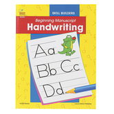 Carson-Dellosa, Beginning Manuscript Handwriting Workbook, Reproducible, 128 Pages, Grade PreK 1